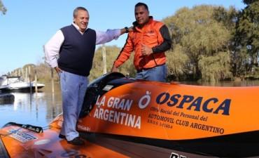 Roberto Passo apoyó al deporte náutico tigrense