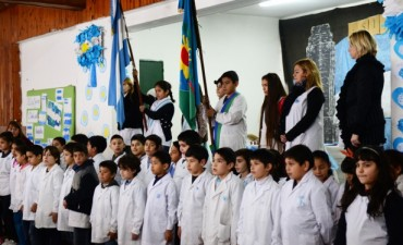 El Municipio presente en la Promesa a la Bandera de la Escuela N° 1 de San Fernando