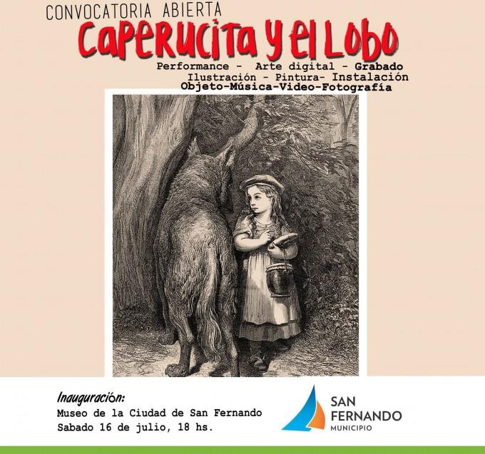 """San Fernando convoca para su próxima gran exposición: """"Caperucita y el lobo"""""""