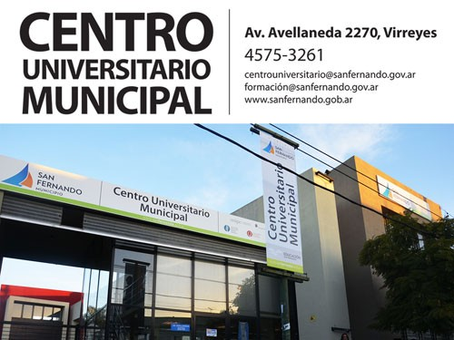 Inscripción para Ciencia y Tecnología, Arquitectura Naval y Artes Visuales en el CUM de San Fernando