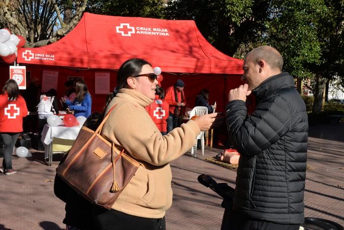 San Fernando acompañó a la Cruz Roja Argentina en su 136° aniversario