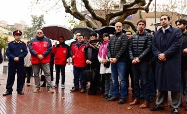 San Fernando homenajeó a los Bomberos Voluntarios en su día