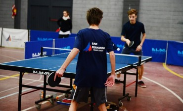 Familias enteras pueden anotarse gratis en la Escuela de Ping Pong de San Fernando