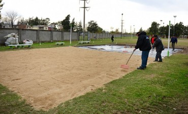 San Fernando tendrá muy pronto su primera cancha de Beach Vóley