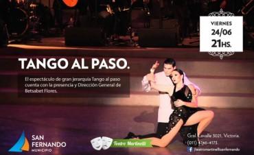 Fin de semana en el Martinelli: 'Tango al paso', el musical 'Desencuentro' y la obra 'La danza macabra'
