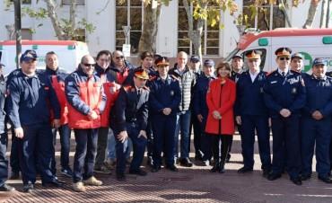 El Municipio de San Fernando conmemoró el Día del Bombero Voluntario