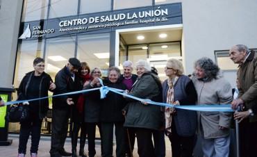"""Andreotti inauguró el nuevo Centro de Salud """"La Unión"""""""