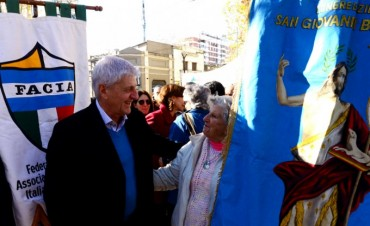 San Fernando celebró el Día del Inmigrante Italiano