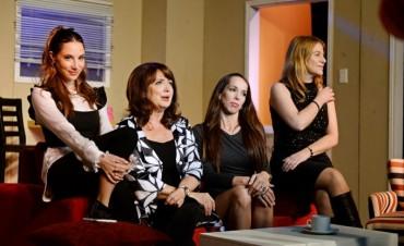 """Las """"Acaloradas"""" subieron con gran éxito al escenario del Teatro Martinelli"""