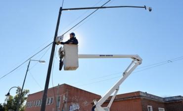 San Fernando colocó cámaras de seguridad en los alrededores de la EPB 21 y ESB 10
