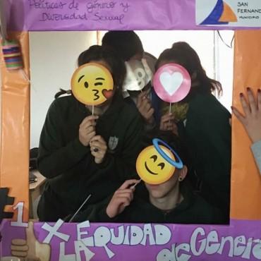 San Fernando lleva a las escuelas talleres sobre equidad de género