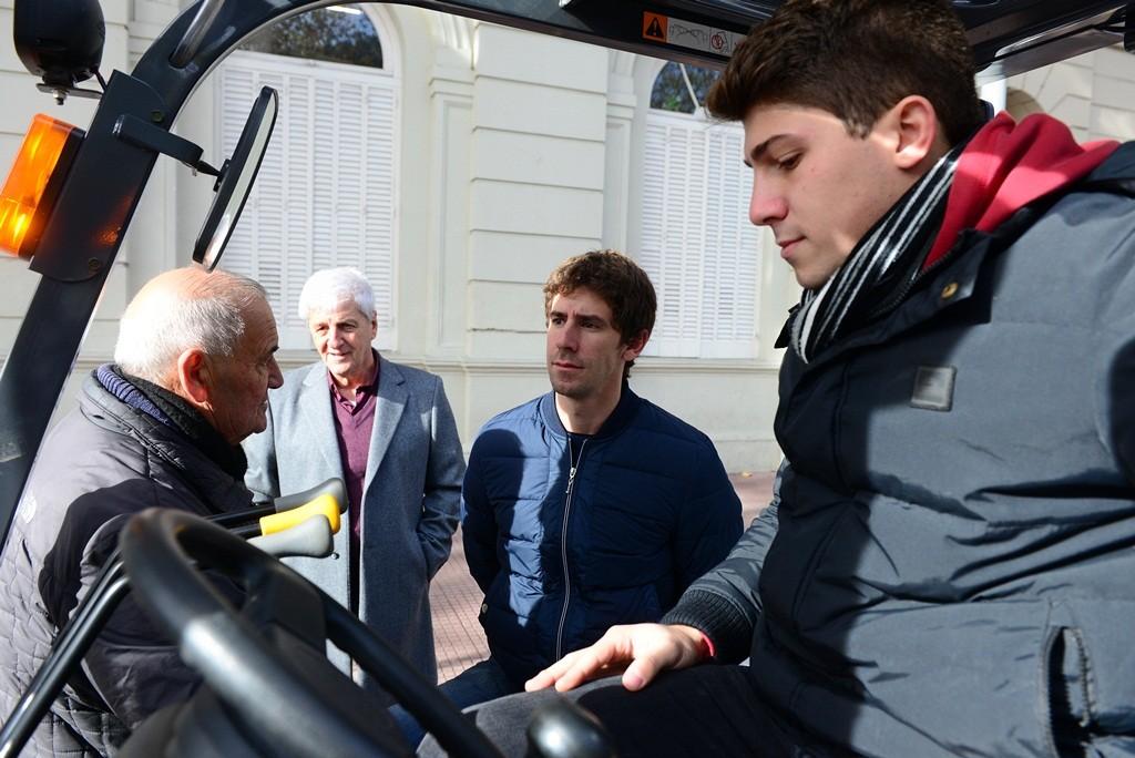 Andreotti sumó un nuevo vehículo a la flota municipal