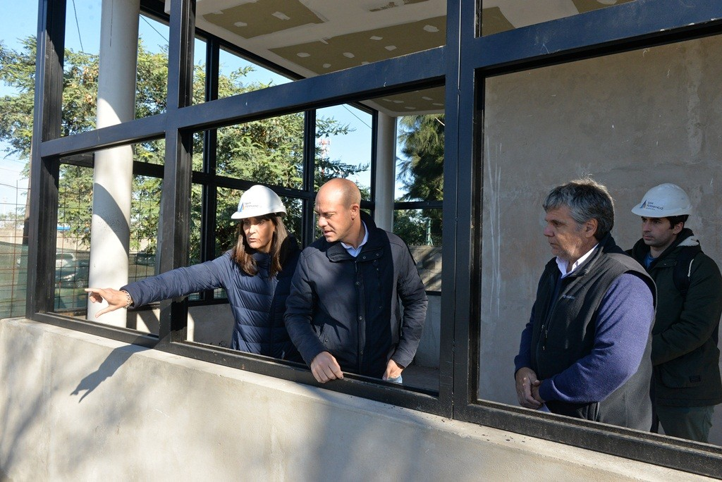 San Fernando construye en la calle Uruguay la duodécima posta policial