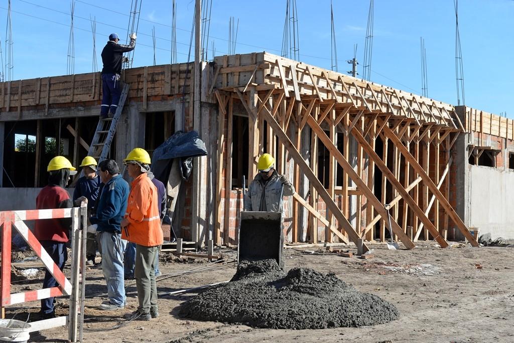 San Fernando avanza en la obra del nuevo Centro de Servicios y Espacios Públicos
