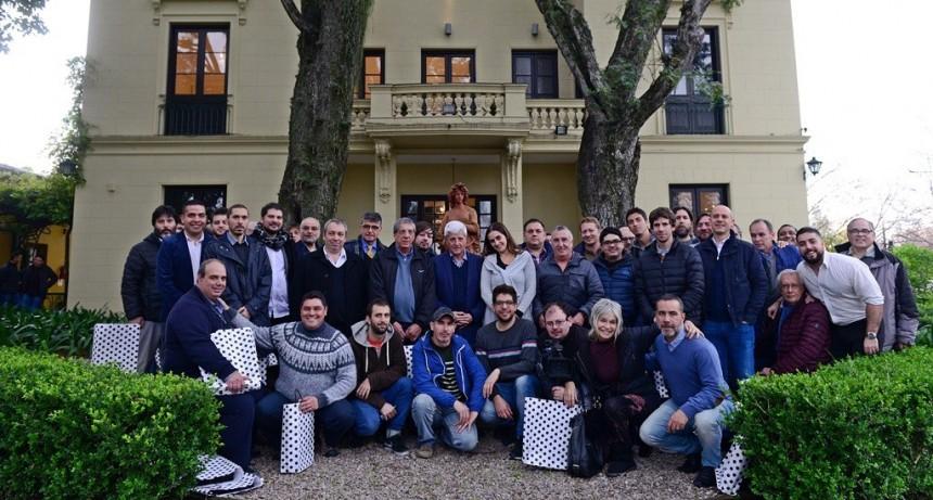 Luis Andreotti festejó el Día del Periodista
