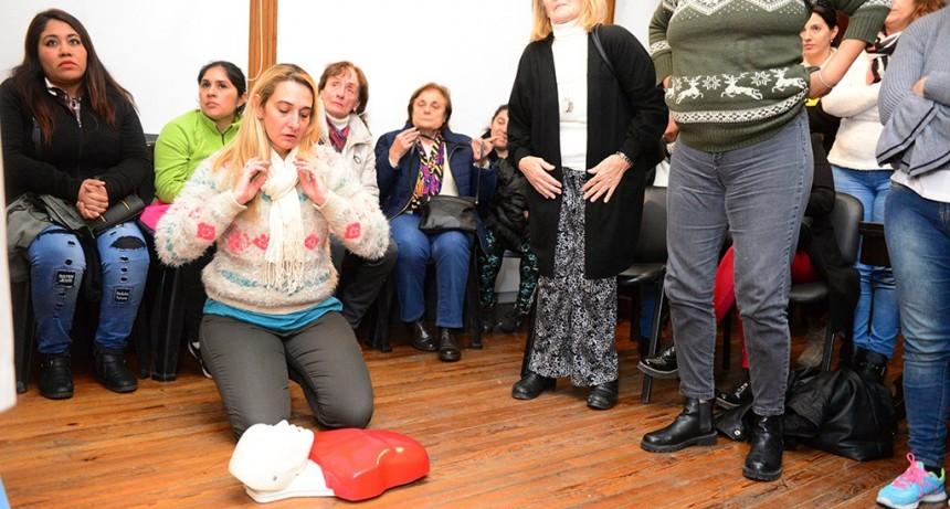 San Fernando capacita en Reanimación Cardiopulmonar a todos los vecinos