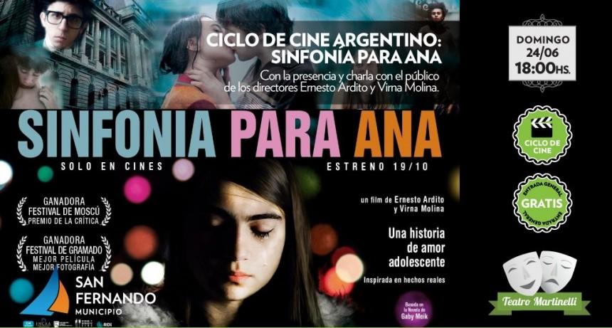 Nazarena Vélez y Maxi Ghione, este viernes en el teatro Martinelli