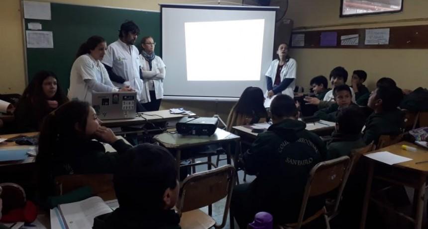 """Comenzó el ciclo de talleres """"Construyendo Futuro"""" para alumnos de las escuelas de San Fernando"""