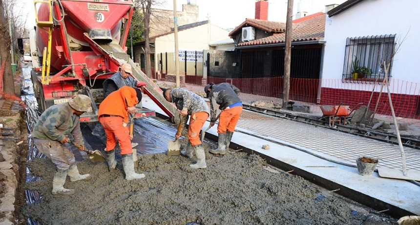 San Fernando renueva la calle Belgrano