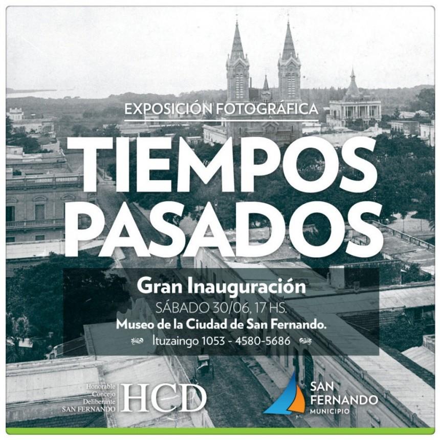 Este sábado, llega la exposición fotográfica Tiempos Pasados al Museo de San Fernando