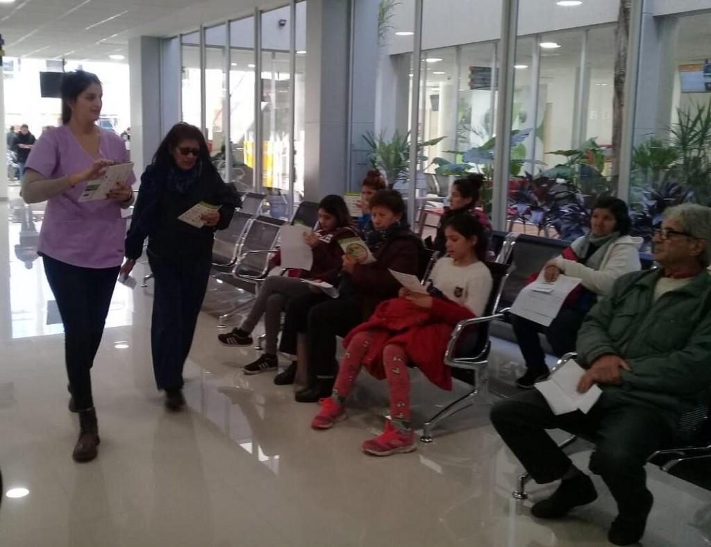 San Fernando capacitó a vecinos sobre hábitos saludables en el Hospital Municipal