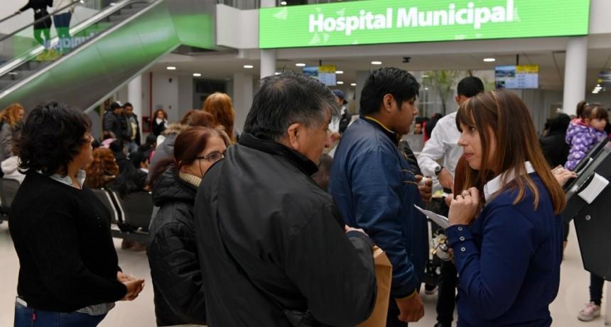 Miles de vecinos ya pasaron por el nuevo Hospital Municipal de San Fernando