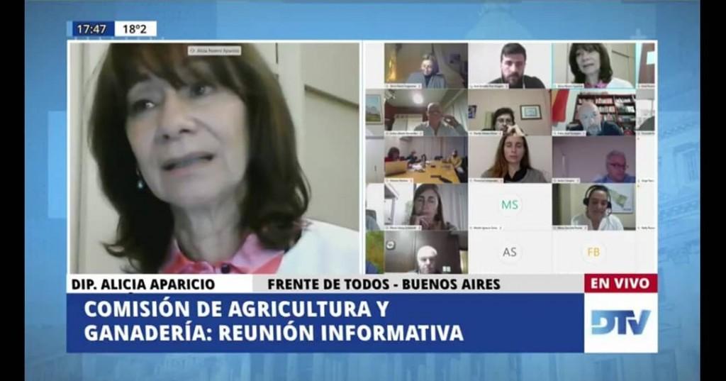 La diputada Alicia Aparicio planteó la necesidad de cubrir las vacantes en el INTA Delta