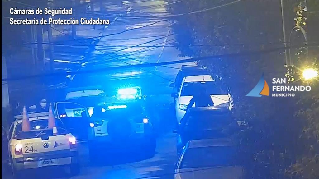 San Fernando: las Cámaras ayudaron a la detención de dos ladrones de autos