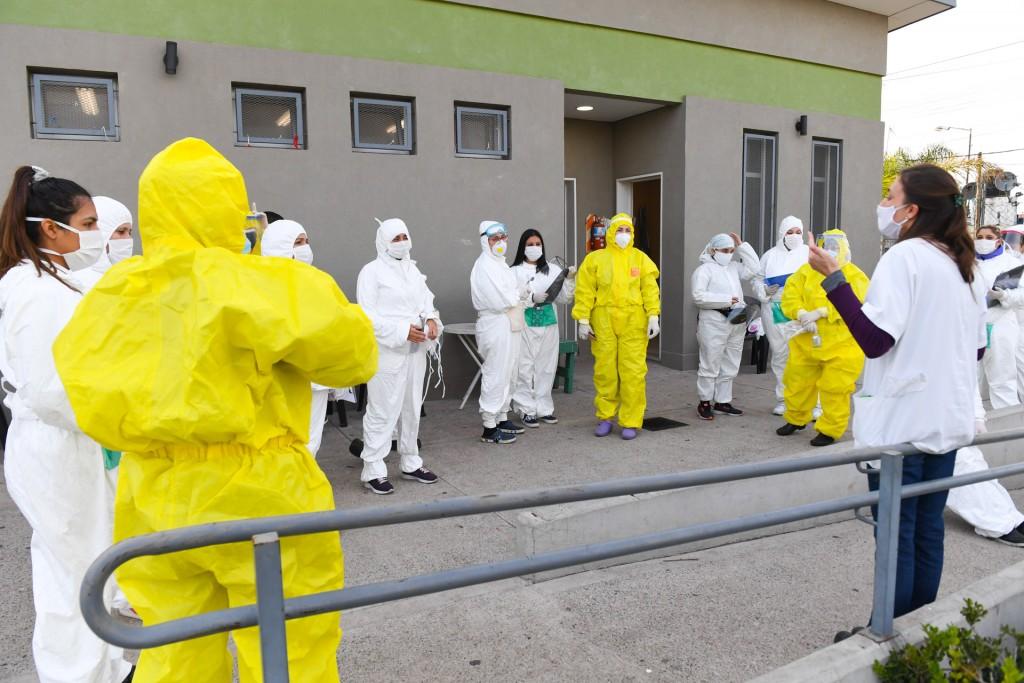 El Municipio completó más barrios de San Fernando con sus operativos de detección de coronavirus