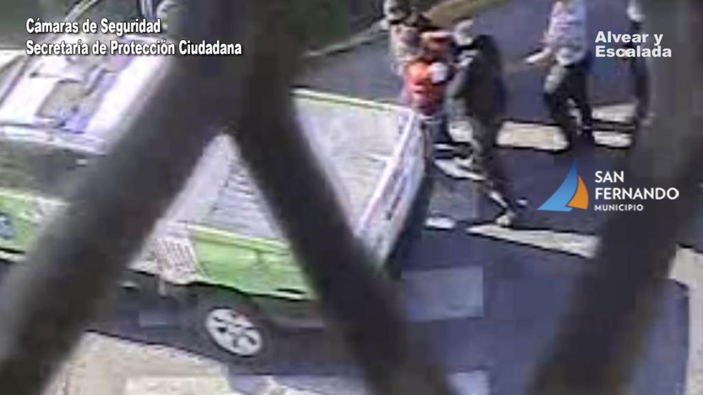 Robó un celular y escapó en bicicleta, pero lo detuvieron gracias a las Cámaras de San Fernando
