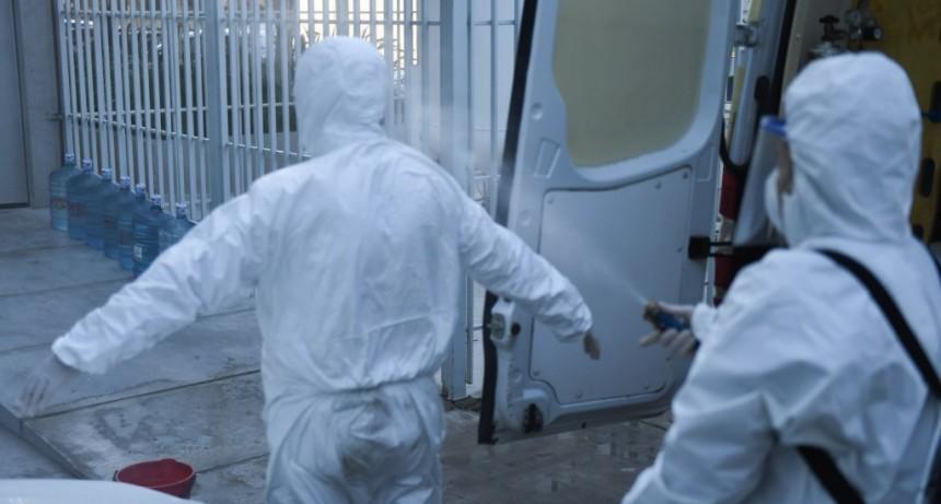 San Fernando continúa con la sanitización de ambulancias para prevenir el coronavirus