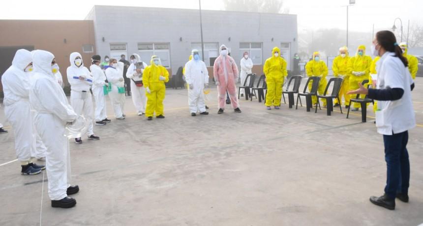 San Fernando continúa los operativos de detección de coronavirus