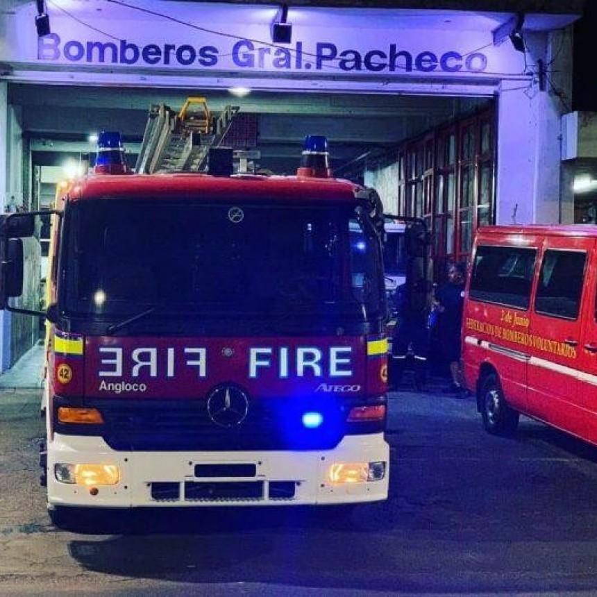 Seis bomberos dieron positivo de coronavirus en un cuartel de Pacheco