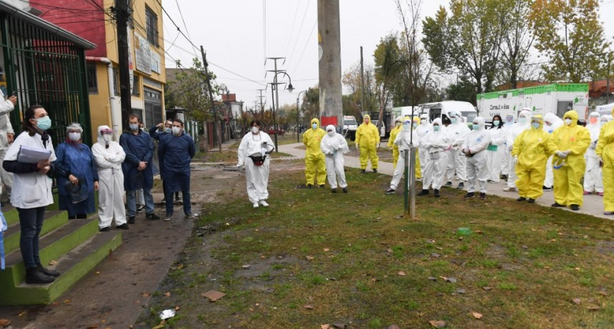 San Fernando ya controló a 10 mil personas y siguen los operativos de detección de coronavirus