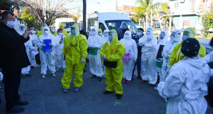 San Fernando suma nuevos barrios en los operativos de detección de coronavirus