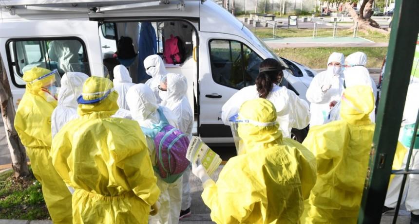 San Fernando controla casa por casa en distintos barrios por coronavirus
