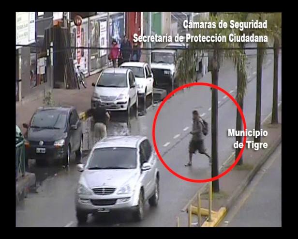 El sistema de seguridad de Tigre detiene a ladrón