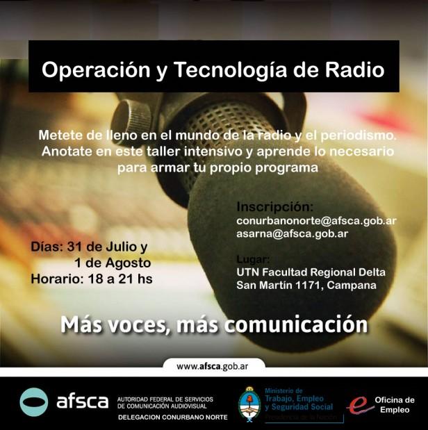 Operación y Tecnología de Radio