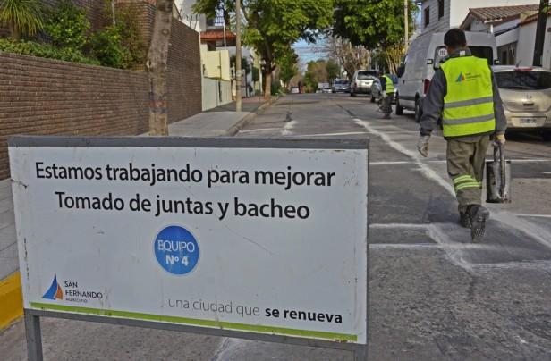 San Fernando mantiene sus calles en el invierno, para evitar roturas en el próximo verano
