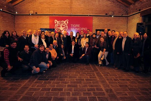 Tigre reconoció a las nuevas autoridades del Rotary Club y el Club de Leones