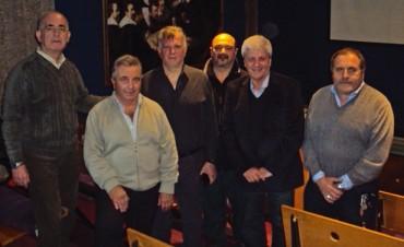 El Intendente Luis Andreotti se reunió con autoridades del Colegio de Médicos