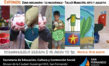 El Museo de San Fernando abre una muestra gratuita de arte infantil, ideal para estas vacaciones de invierno