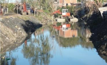 Tigre lleva adelante el mantenimiento del Arroyo Las Tunas