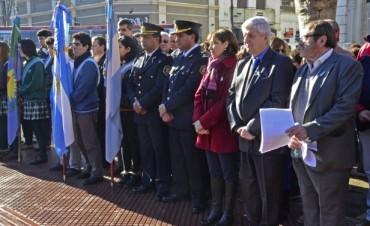 San Fernando celebró el Día de la Independencia en la Plaza Mitre