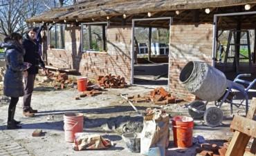 Mejoras en el Polideportivo N° 3 de San Fernando para recibir a las Colonias: nuevas luces y Quincho cerrado