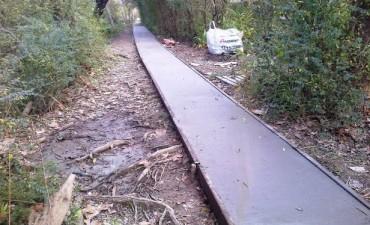 Un nuevo sendero para los vecinos del Río San Antonio