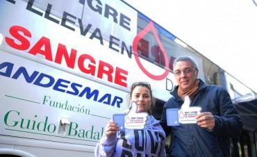 Donar sangre, un acto voluntario que se consolida en Tigre