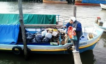 El Delta de San Fernando recicló una tonelada de materiales gracias a una campaña municipal
