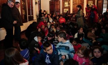 En Tigre, los chicos arrancaron sus vacaciones con todo