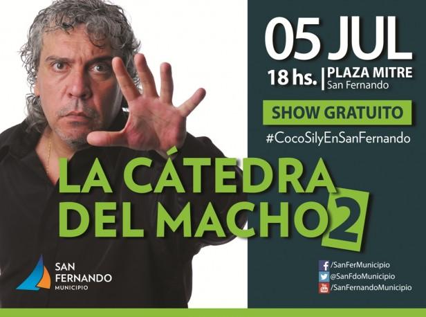 El show de Coco Sily se muda al Polideportivo N° 1 de San Fernando para una mejor organización